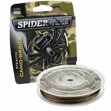 Spiderwire SCS30C-125 Stealth Braided Line 30/8lb/Dia 125yd Filler Spool Camo
