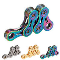 Mountain Speed Bicycle Chain 9/10/11 Speed Half Hollow Chain Accessories Durable