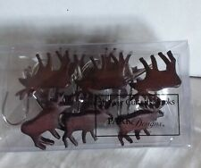 Park Designs Moose Shower Curtain Hook Set Of 12 - 2 slightly damaged see photos