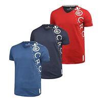 Mens T-Shirt Crosshatch V Neck Short Sleeve Summer Mebsuta T-Shirt Graphic Casua