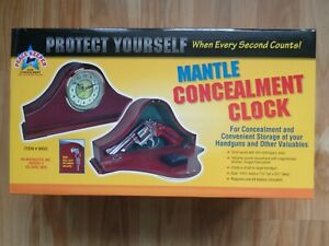 NEW PS Products Mantle Concealment Clock MGC Firearm Valuables Furniture Safe