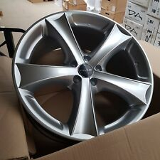 4x Eta Beta Tetsutt Alloy Wheels 19x9 et40 5x108 67.1 Silver | NEW