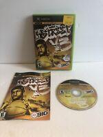 Original Xbox : NBA Street 3v3 Vol 3 CIB Complete Free Shipping