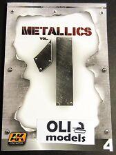Metallics Vol.1 Learning Series Book - AK Interactive 507