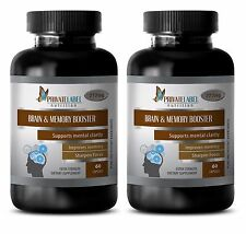 Memory Booster Ginkgo Biloba - Brain & Memory Booster - Concentration Focus - 2B