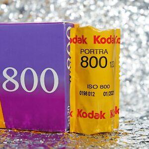 *NEW* Kodak Portra 800 120 film