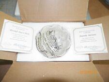 Lenox Devoted Hearts Sculpted Bon Bon Dish Bowl 24K Gold Trim Fine Ivory China