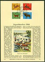 Privat ETB Ersttagsblatt Verlag Erich Braun Nr. 113 Michel 511 - 514 Hochwild
