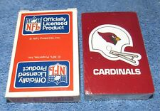 Vintage St. Louis Cardinals NFL Poker Playing Cards - NEW OLD STOCK
