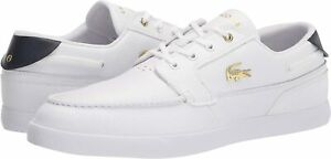 Men's Shoes Lacoste BAYLISS DECK 0721 1  Sneakers 41CMA006221G WHITE / WHITE
