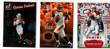 CARSON PALMER 2008 UPPER DECK TEAM COLORS GAME USED MATL + 2 MORE CARDS