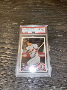 2011 topps mike trout update rookie card 175 PSA8.5