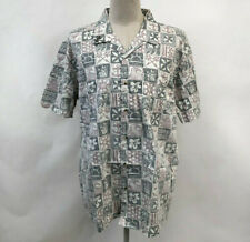 Loser Machine Dark Seas Men's SS Woven Shirt El Porto Cream Size XXL NWT Anchor