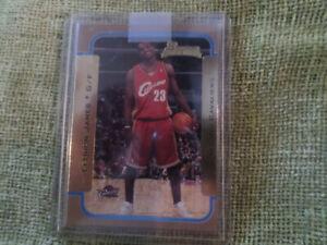 2003-04 Bowman Gold Lebron James #123 Rookie