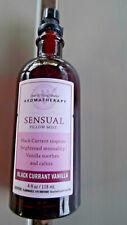 Bath & Body Works Sensual Black Currant Vanilla Aromatherapy Pillow Mist Retired