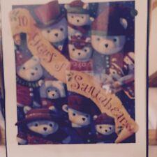 Rare 1994 Dayton Hudson Santabear Santa Bear 10th Anniversary Poster