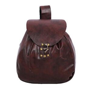 Medieval Pouch Bag Purse Wallet  Viking Pirate Waist Pocket Steampunk Unisex