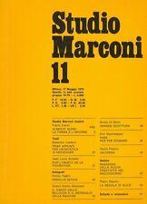 Studio Marconi 11 - 1979