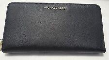 Michael Kors Jet Set Large Continental Clutch Organizer Travel Wallet Saffiano