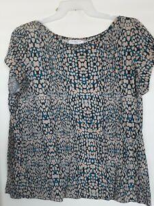 Liz Claiborne Women's Short Sleeve Blouse Top  Sz  2X