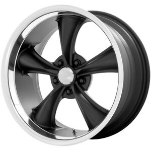 "American Racing VN338 Boss 18x9.5 5x4.5"" -4mm Black Wheel Rim 18"" Inch"