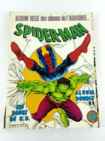 BD Comic  Spider Man Album double n°4 1985 Lug  Envoi rapide et suivi