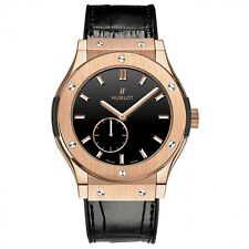 NEW HUBLOT Classic Fusion Ultra Thin 18KRG  45mm Mens Watch 515.OX.1280.LR