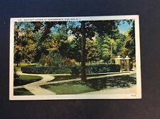 MOTHERS' GARDEN OF REMEMBRANCE, Vineland, New Jersey Postcard 1940's Vintage