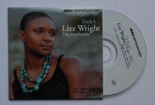 Lizz Wright I'm Confessin + Phlipp Weiss Ltd Ed 3inch CD Cardcover