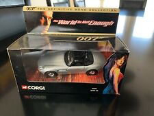 CORGI 05001 THE DEFINITIVE BOND COLLECTION. THE WORLD IS NOT ENOUGH BMW Z8