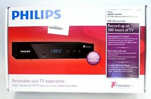 PHILIPS Digital Recorder Freeview/HD Box/500 GB Disk HDTP8530/05. BNTB (1 OF 2).