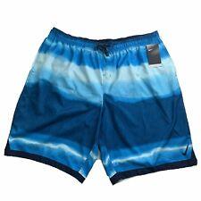 Nike Repel Swim Trunks 4XL Board Shorts Blue NWT $64