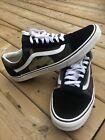 Vans Mens Old Skool Black Woodland Camo Canvas Suede Skate Shoes Size 13- Skater