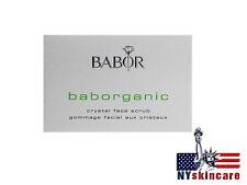 Babor Baborganic Crystal Face Scrub 50ml Brand New