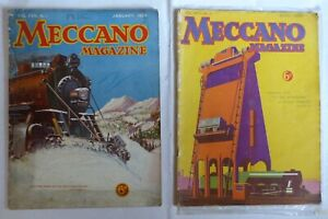 Meccano Magazine:  2 months - January and April 1933