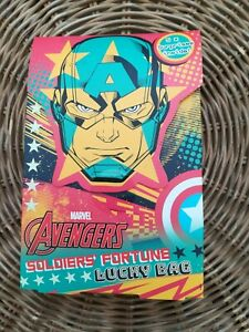 Marvel Avengers Soldiers Fortune Lucky Bag Set Kids Bubble Bath & Stickers