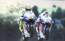 VALENTINO ROSSI AUTOGRAPH - SIGNED MOTO GP POSTER PHOTO + *CERTIFICATE*