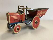 Vintage Marx Toys Dippy Dumper Windup Tin Toy Truck