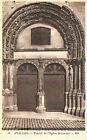 CPA 89 AVALLON portail de l'eglise st lazare