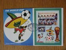 Coupe du monde 07/05/1986 postal cover: CC 1010-Pique mascotte-stamp: Argentine (Fi