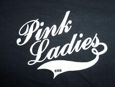 Pink Ladies Black Graphic Print TShirt M