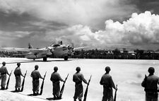 WWII PHOTO JAPANESE SURRENDER PLANE WW2 World War Two Japan Le Shima Island