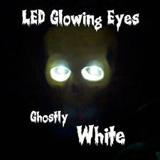 LED GLOWING EYES HALLOWEEN WHITE 5MM 9 VOLT WIDE ANGLE