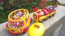 petit train et autobus BABAR musical et lumineux avec personnages (véhicule)
