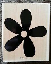 Stampin' Up BIG BLOSSOM Set 1 Wood Mounted Rubber Background Stamp Flower