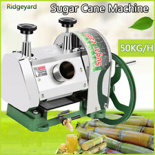 50kgh Manual Sugar Cane Press Juicer Juice Machine Commercial Extractor Mill Us