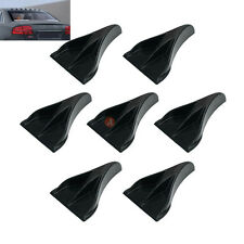 Air Vortex Generator Diffuser Shark Fin for Spoiler Roof Wing Windshield Bumper