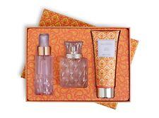 Vera Bradley Citrus Mimosa 3 PC Set Perfume 1.7 oz + Mist 2.5 oz + Lotion 4 oz