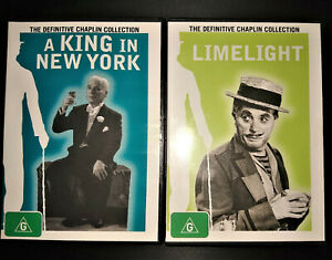 CHARLIE CHAPLIN  - THE DEFINITIVE COLLECTION - 2 DVD's - FREE POST