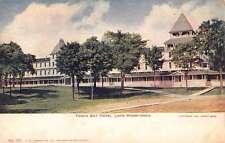 Lake Minnetonka Minnesota Tonka Bay Hotel Street View Antique Postcard K64275